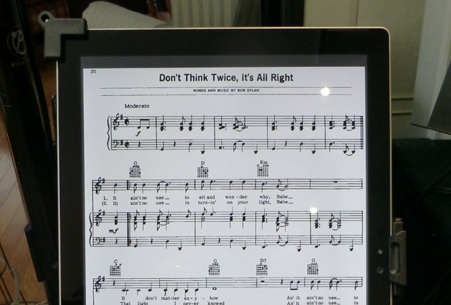 How To Use Surface Pro 4 As A Sheet Music Reader