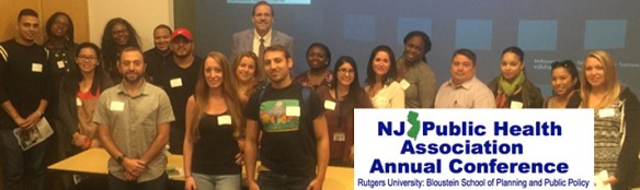 Students at NJPHA Annual Conference