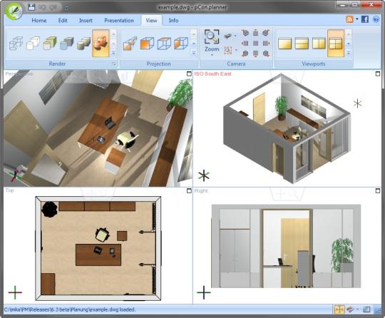 Dise o de interiores profesional nksistemas for Diseno interiores software