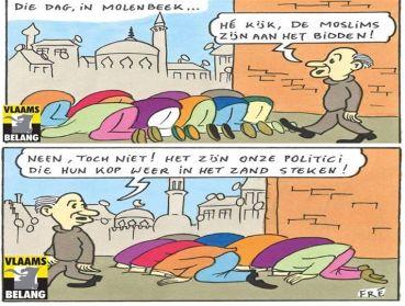 Afbeeldingsresultaat voor molenbeek cartoon