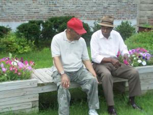 Gardeners of African Heritage Garden.