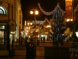 Christmas lights in Kingston upon Thames