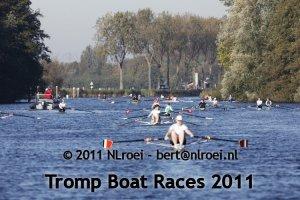 De Tromp Boat Races van 2011 op het Hilversums Kanaal.