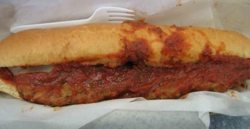 The Italian Sausage Sub