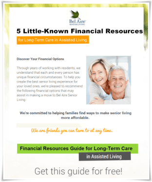 5 Little Known Financial Resources for Assisted Living