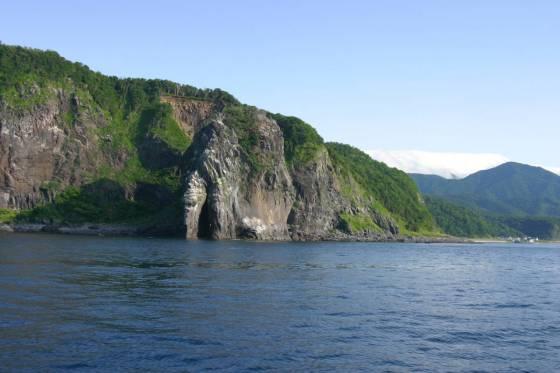 有名な「プユニ岬」。上には陸路から行ける展望台もある