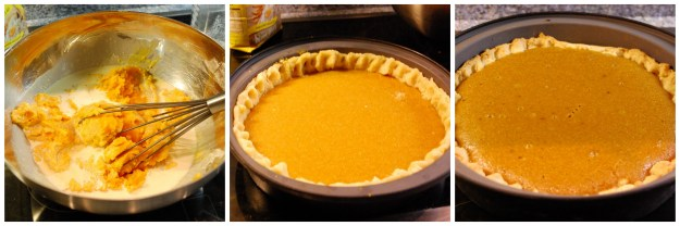 Making a Pumpkin Pie