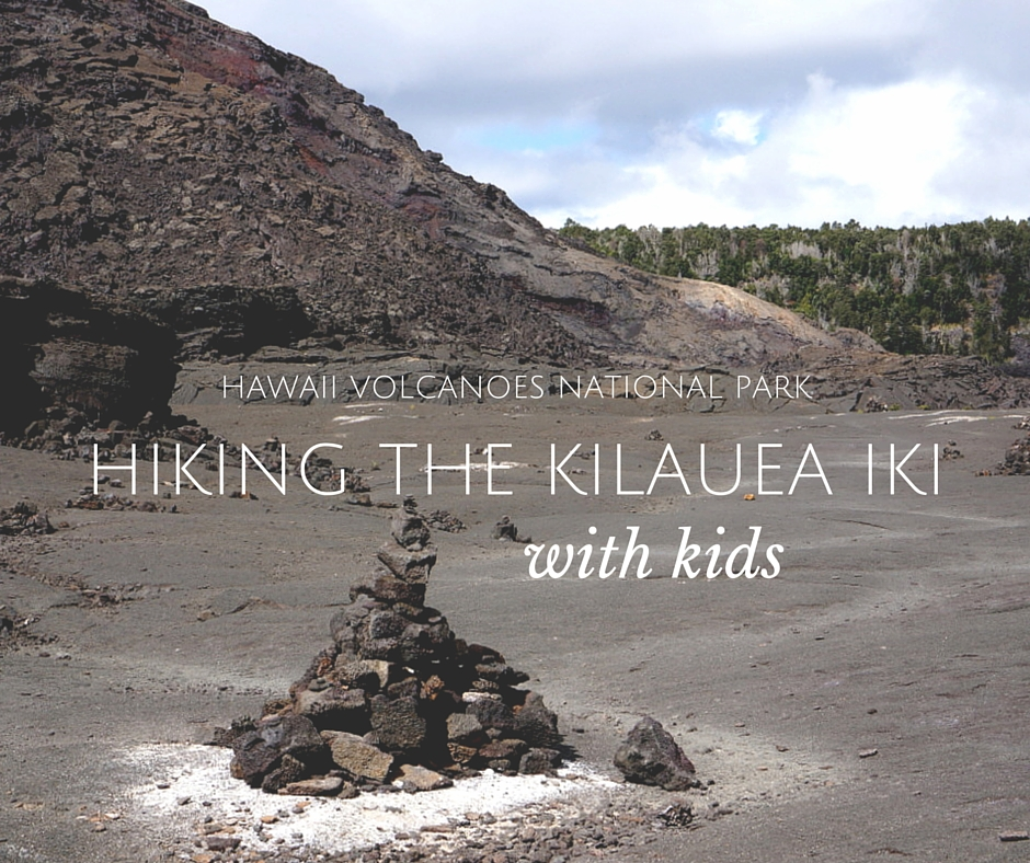hiking the Kilauea Iki