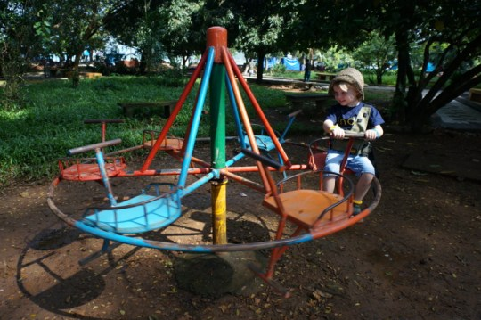 Playground in Fort Cochin, Kerala with Kids
