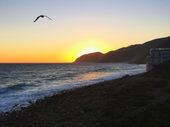 Year in Review: Sunset at Malibu