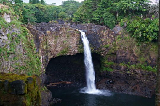 Year in Review: Hawaii waterfall