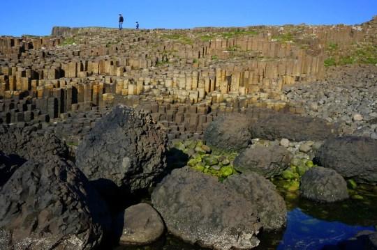 Exploring Giant's Causeway in Northern Ireland