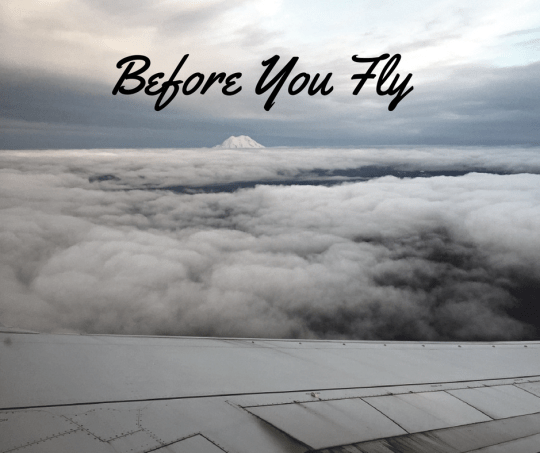 Before you Fly: Checklists for Travel