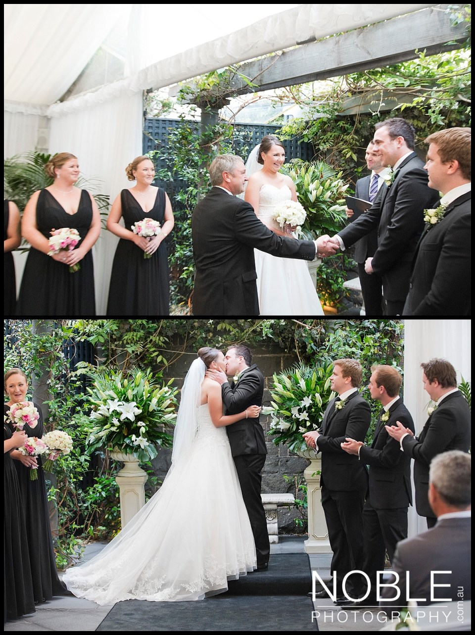 Wedding Ceremony at Butleigh Wootton