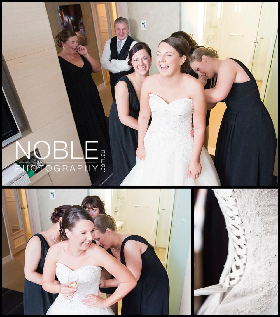 Bride Preparations at The Rialto