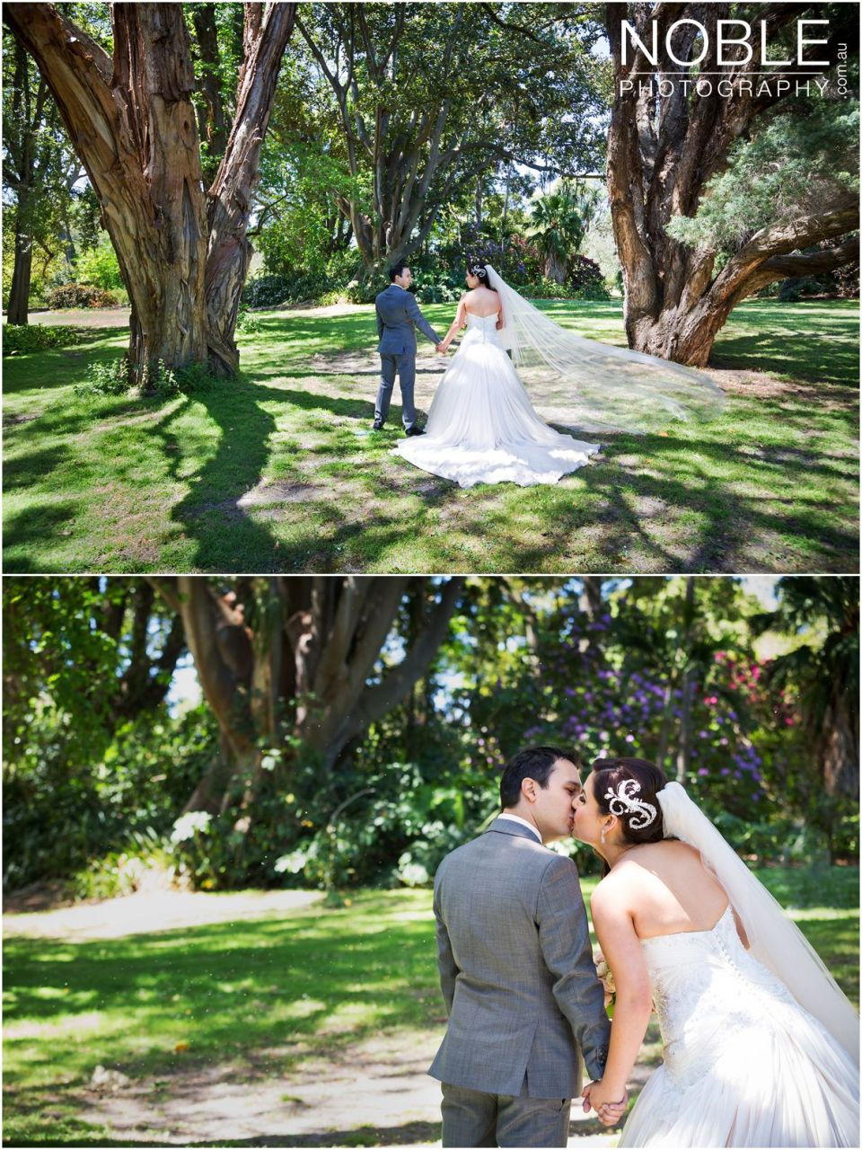 Botanical Gardens Wedding Photographs