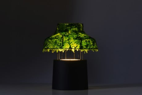 Marine Light Nir Meiri 7 e1369140932898 Israeli Designer Uses Seaweed To Create Cool Lamps