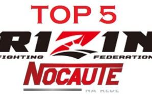 TOP 5 NOCAUTE NA REDE – RIZIN FF GRAND PRIX…