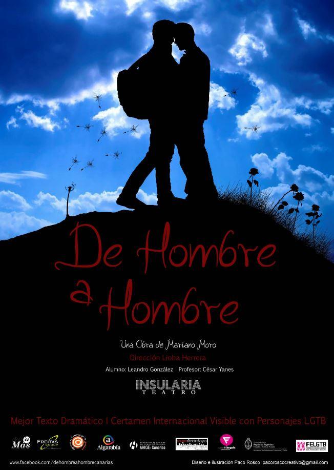 Noctivagos'16 Finalistas - Insularia Teatro: De hombre a hombre
