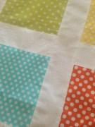 Rainbow Quilt Top Detail