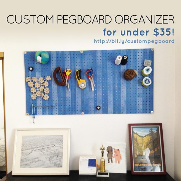 Custom Pegboard for under #35