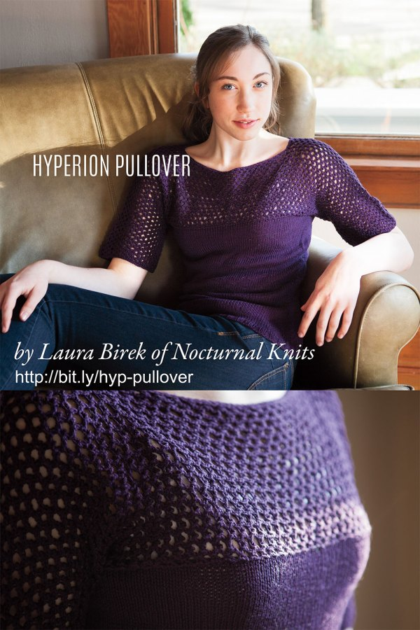 Hyperion Pullover by Laura Birek