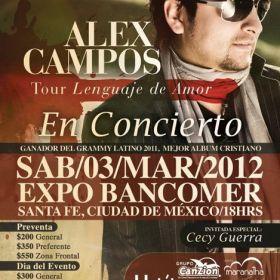 Poster Alex Campos
