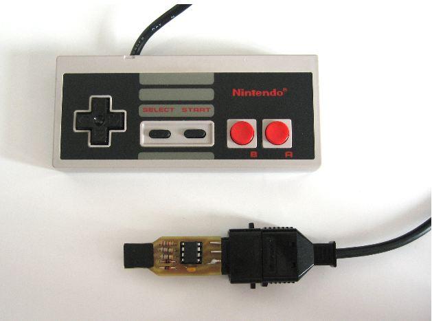 Crea tu adaptador USB para control de NES