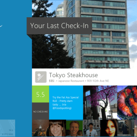 Foursquare Windows 8