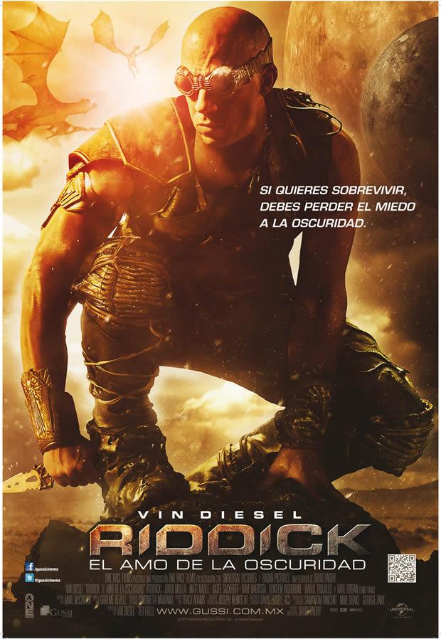 Nota de producción: Riddick  El Amo de la Oscuridad