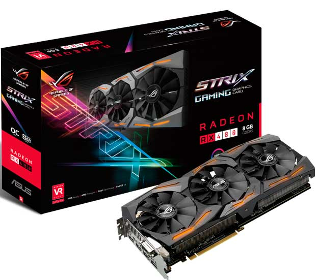 ASUS anuncia la Strix RX480