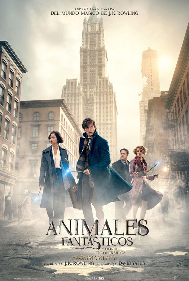 Trailer y poster debut de #AnimalesFantásticos y dónde encontrarlos