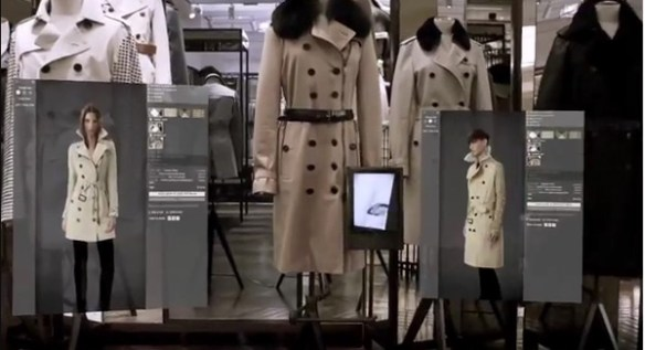 ecommerce Burberry store
