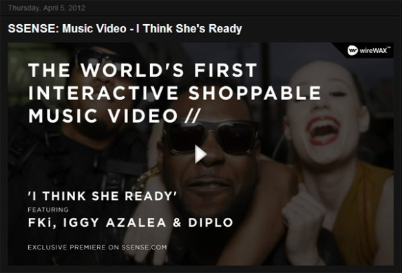 videos with ecommerce embeds