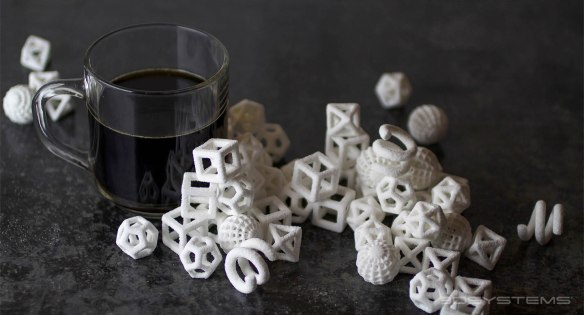 3d printed sugar cubes for coffee