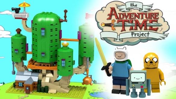 Adventure Time Lego kit