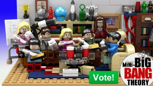 Big Bank Theory Lego kit