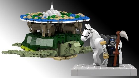 Terry Pratchett's Discworld Lego kit
