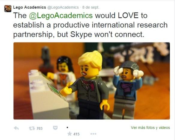 LegoAcademics Twitter account