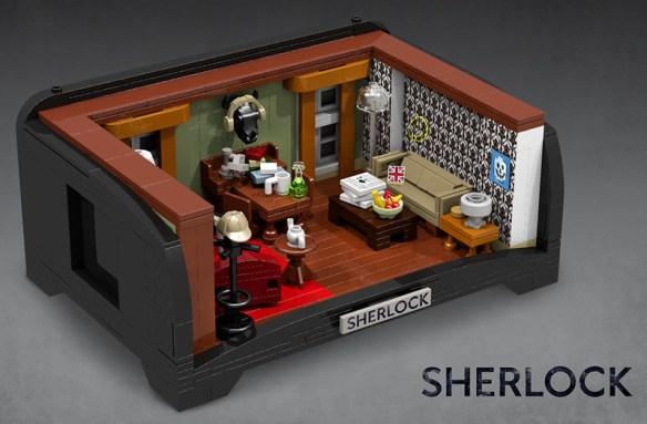 Sherlock Lego kit
