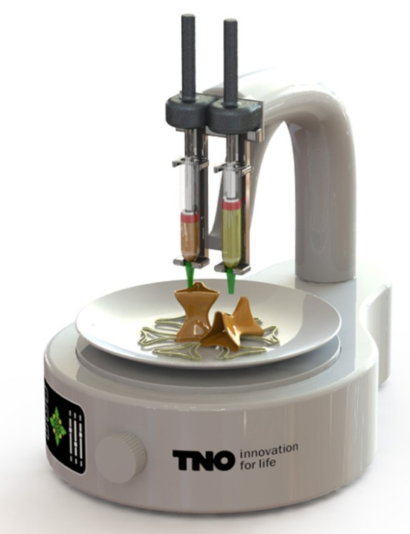 3d food printer from TNO