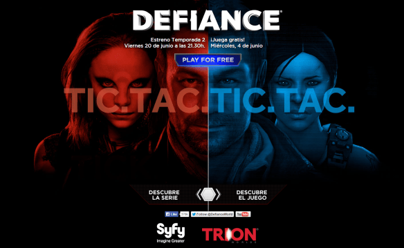 Defiance game and show