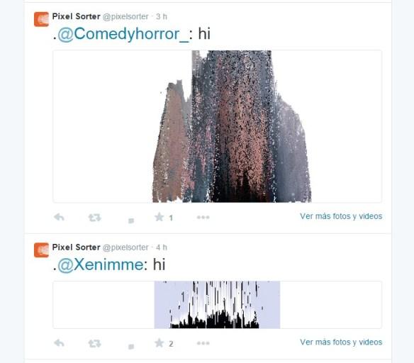 Pixel Sorter Twitter bot