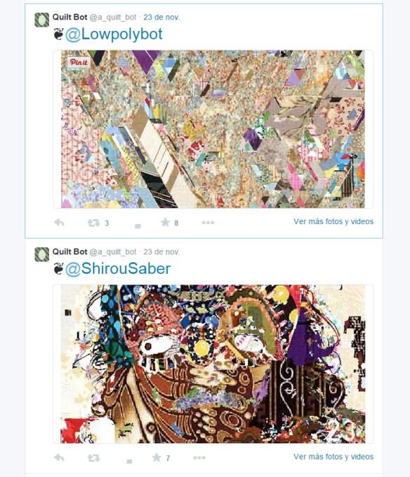 Quilt Twitter bot