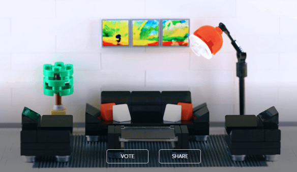 lego couch set