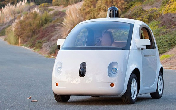 One of the Google driverless car prototypes