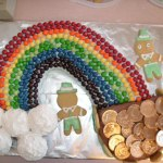 rainbow to pot o gold cake