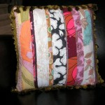 pieced pillow