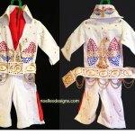 Elvis costume, size 18 mo.