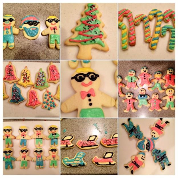 funny sugar cookies